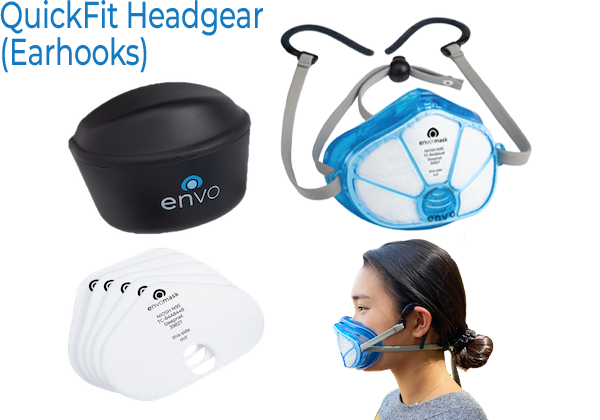 envo®mask N95 Respirator Kit SWATCH