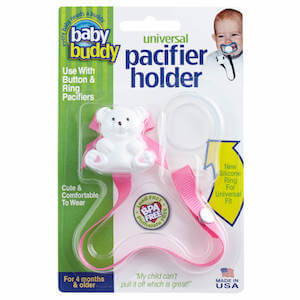 Universal Pacifier Holder (Solids) MAIN