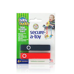 Baby Buddy Secure-A-Toy 2 Count