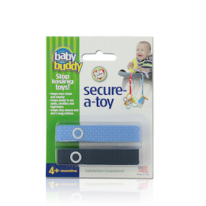 Baby Buddy Secure-A-Toy 2 Count THUMBNAIL