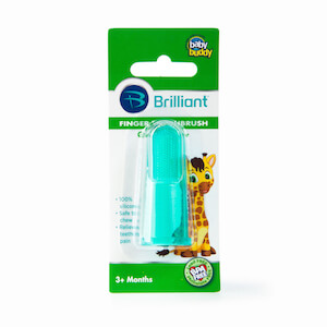 Baby Buddy Silicone Finger Toothbrush THUMBNAIL