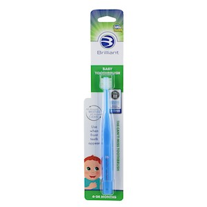 Baby Buddy Brilliant Baby Toothbrush THUMBNAIL