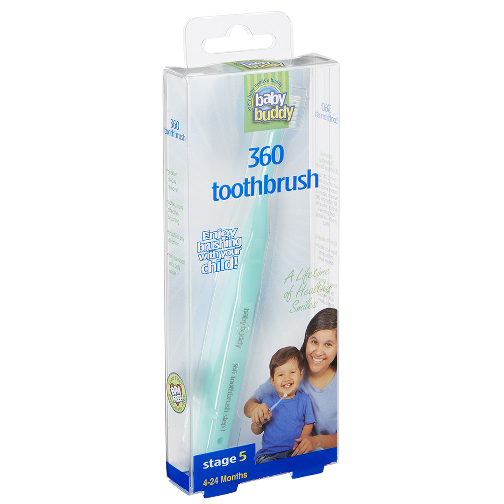 Baby Buddy 360 Toothbrush Stage 5 Boxed