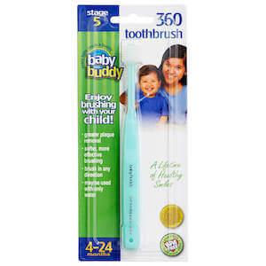 Brilliant!® Baby Toothbrush (formerly 360 Toothbrush Stage 5)