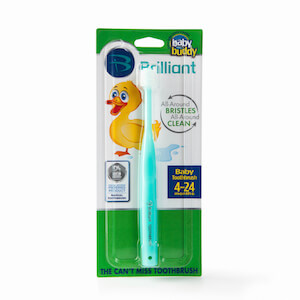 Baby Buddy Brilliant Baby Toothbrush