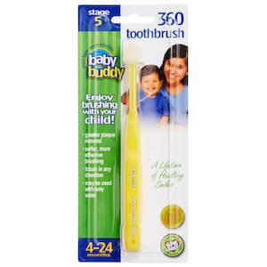 Brilliant!® Baby Toothbrush - stop fighting to brush teeth