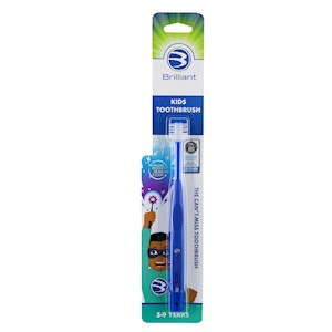 Brilliant Kids Toothbrush Round Head Royal 5+ Years MAIN