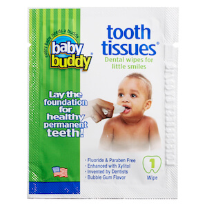 Baby Buddy Tooth Tissues® 1ct - 100 Pack