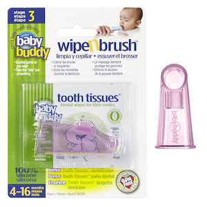 Baby Buddy Wipe-N-Brush
