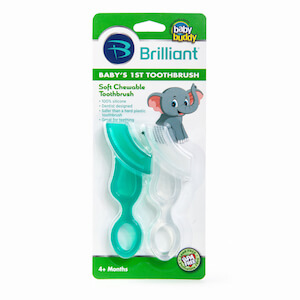 Baby Buddy Baby's 1st Toothbrush 2ct