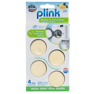 Compac Home Plink Washer & Dishwasher Cleaner 4ct THUMBNAIL