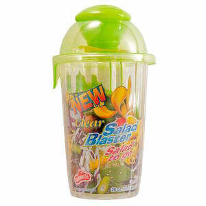 Salad Blaster Clear Cup 26oz THUMBNAIL