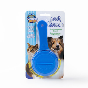 Compac Home Self Cleaning Pet Brush THUMBNAIL