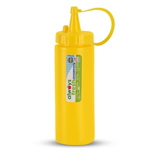 Sauce Dispenser - 6.5oz  - Yellow MAIN