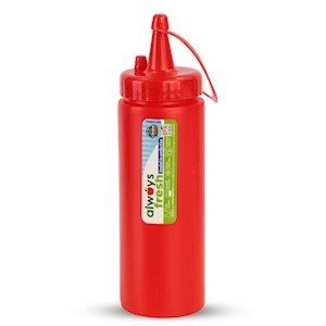 Sauce Dispenser - 6.5oz  - Red MAIN