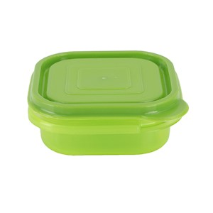 Square Bowl Container - 7oz - Light Green MAIN