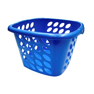Compac Home Square Laundry Basket - Ocean THUMBNAIL