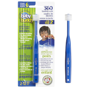 Baby Buddy 360 Toothbrush Stage 6