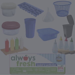 Compac Home Always Fresh Food Storage and Plastics