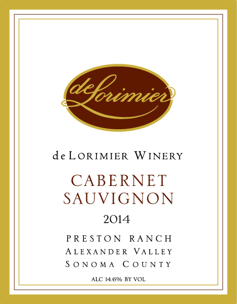2014 Cabernet Sauvignon, Preston Ranch