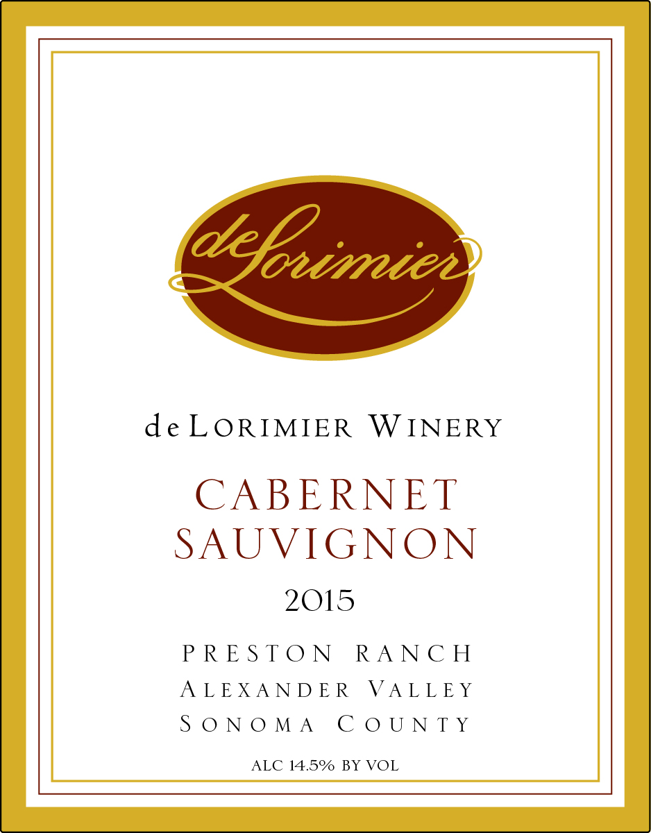 2015 Cabernet Sauvignon, Preston Ranch