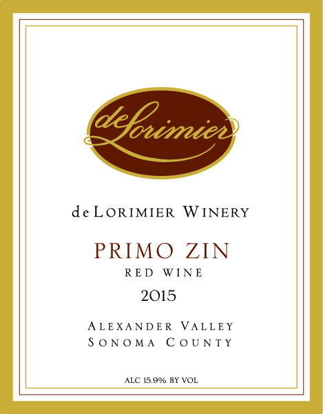 2015 Primo/Zin, Osborn Ranch