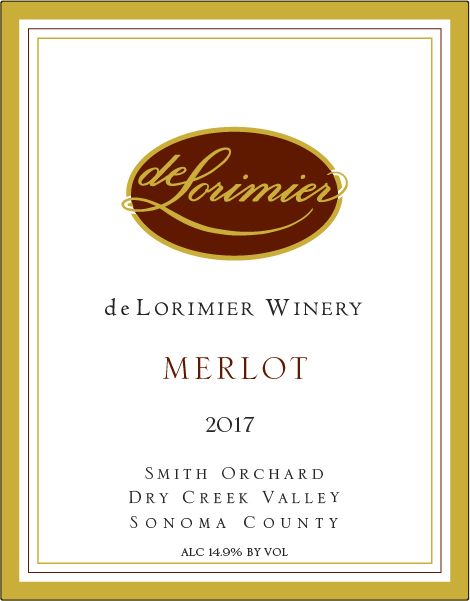 2017 Merlot, Dry Creek Valley MAIN