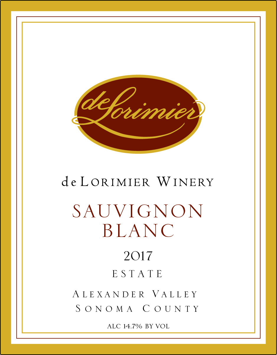 2017 Sauvignon Blanc, Estate