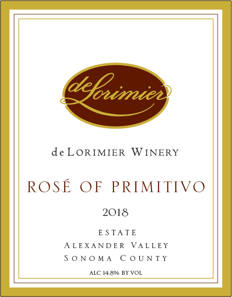 2018 Rosé of Primitivo MAIN