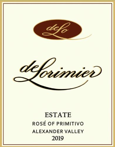 2019 Rosé of Primitivo MAIN
