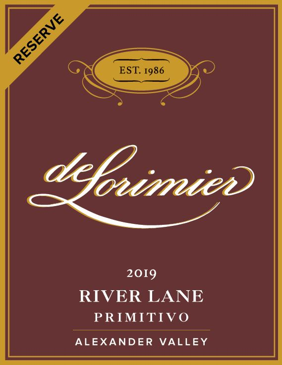 FUTURE 2019 Primitivo, River Lane Reserve THUMBNAIL