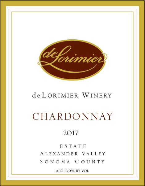 2017 Chardonnay, Estate MAIN