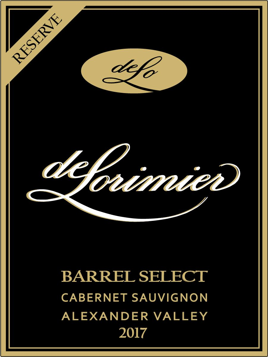 2017 Cabernet Sauvignon, Barrel Select Reserve, Alexander Valley THUMBNAIL