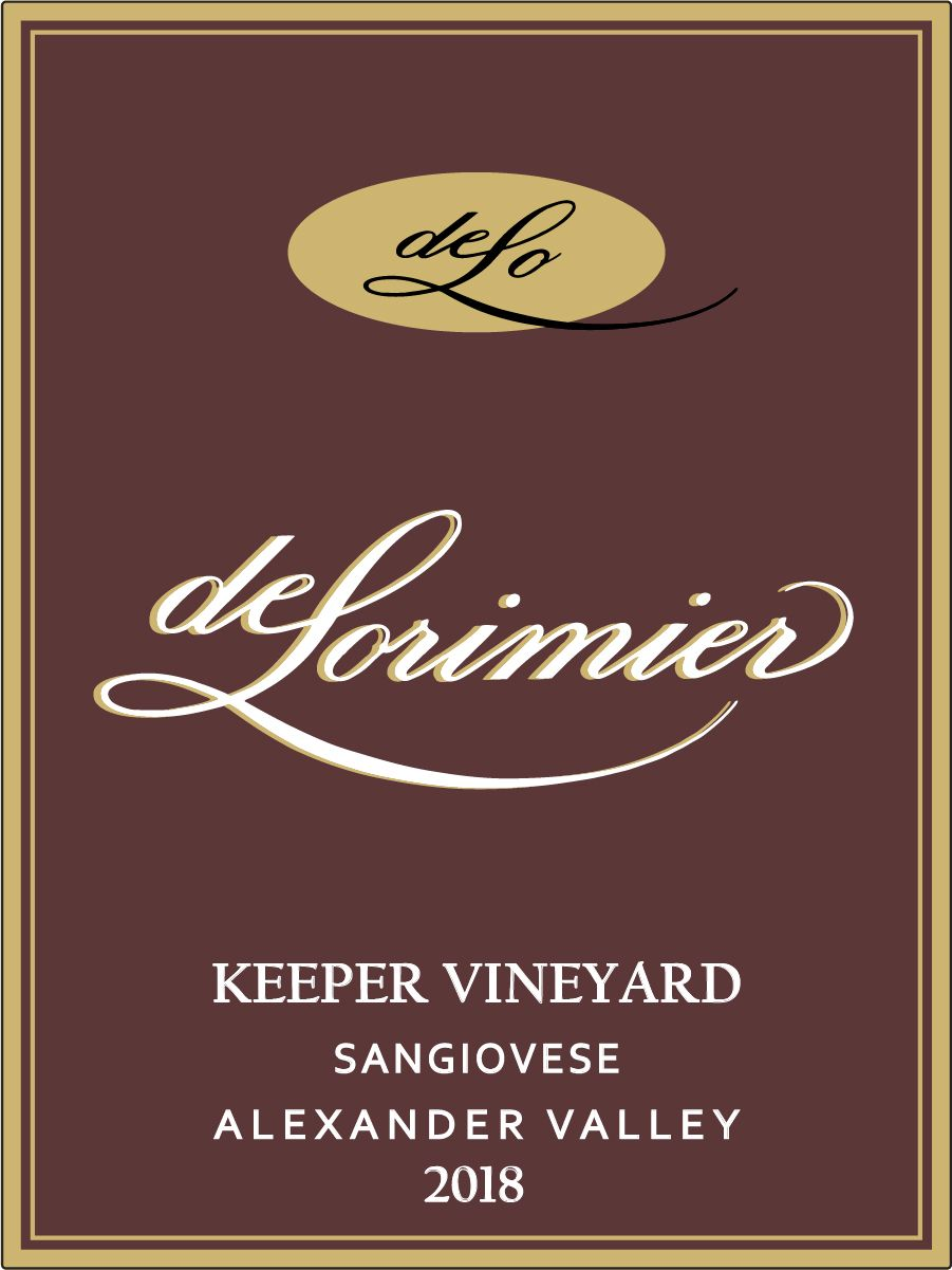 2018 Sangiovese, Keeper Vineyard THUMBNAIL