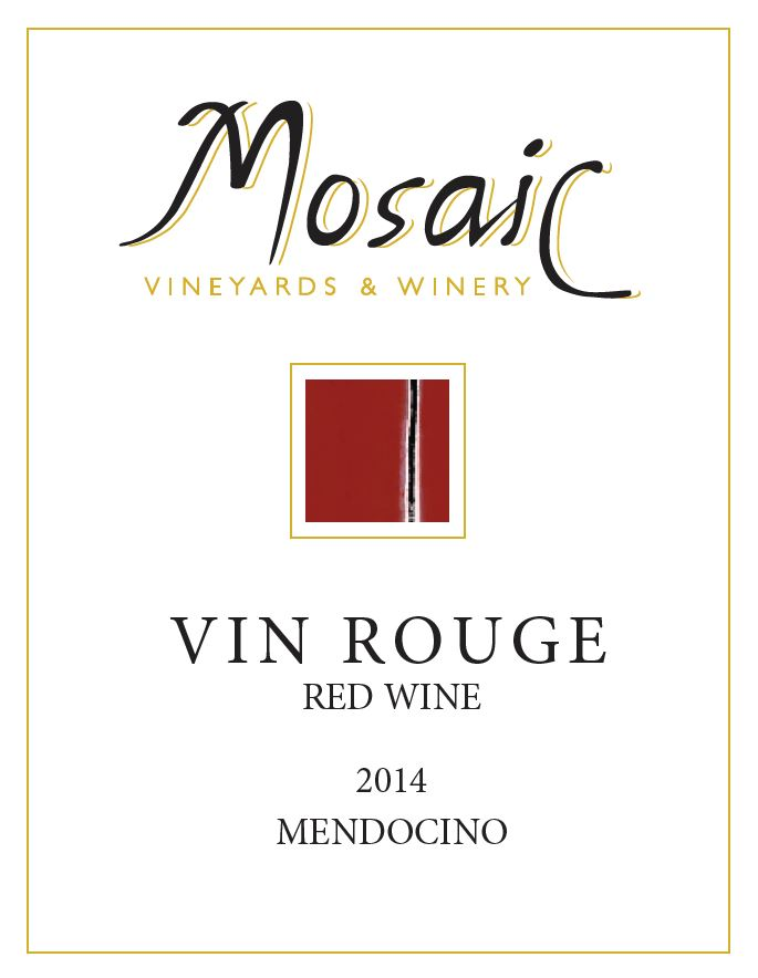 2014 Mosaic Vin Rouge, Mendocino County MAIN