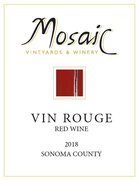 2018 Mosaic Vin Rouge, Sonoma County THUMBNAIL