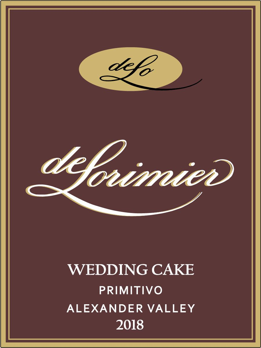 2018 Primitivo, Wedding Cake Vineyard THUMBNAIL