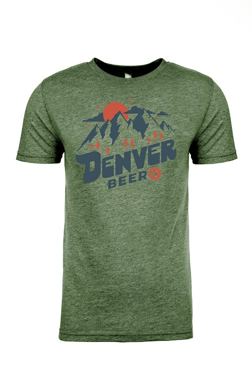 Denver beer Co Crew Neck with Vintage Logo THUMBNAIL