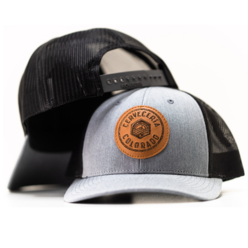 Cerveceria Colorado Trucker Hat - Denim/gray MAIN