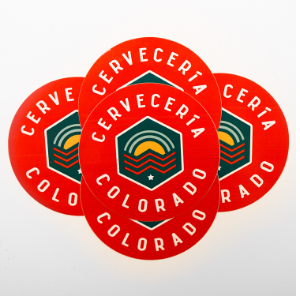 Cerveceria Colorado Stickers THUMBNAIL
