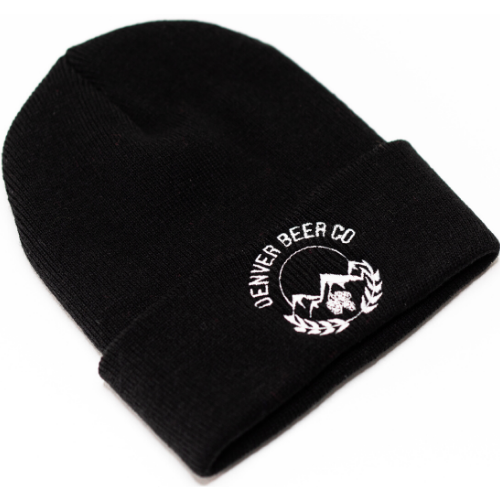 Denver Beer Co Beanie - Black MAIN