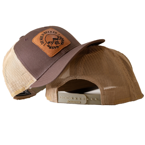 Denver Beer Co Trucker Hat - Brown MAIN