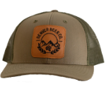 Denver Beer Co Trucker Hat - Army Green SWATCH