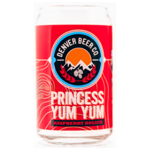 Denver Beer Co Princess Yum Yum Glass THUMBNAIL
