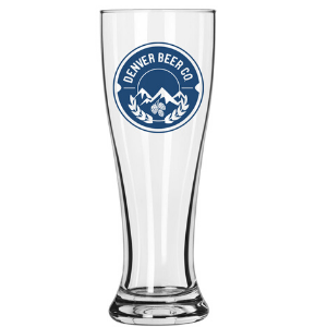 Denver Beer Co Pilsner Style Glass THUMBNAIL