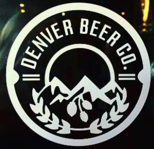 Denver Beer Co Die Cut Sticker THUMBNAIL