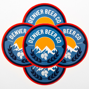 Denver Beer Co Stickers THUMBNAIL