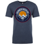 Denver Beer Co Men's Crew Neck with Classic Full Color Logo SWATCH