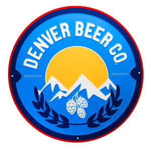 Denver Beer Co Tin Tacker THUMBNAIL
