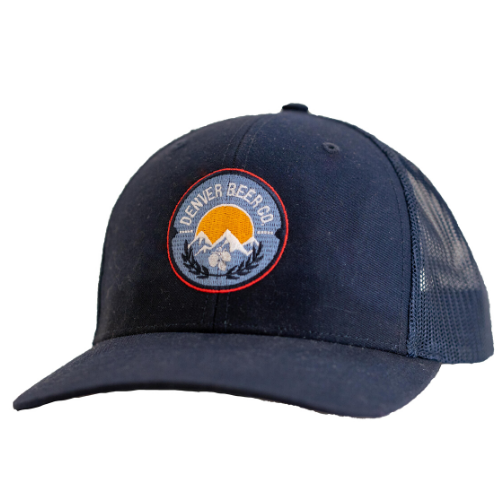 Denver Beer Co Trucker Hat - Navy MAIN